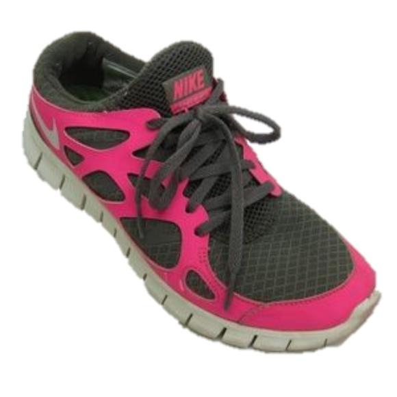 Nike Free Run 2 Pink Sneakers Size 7.5